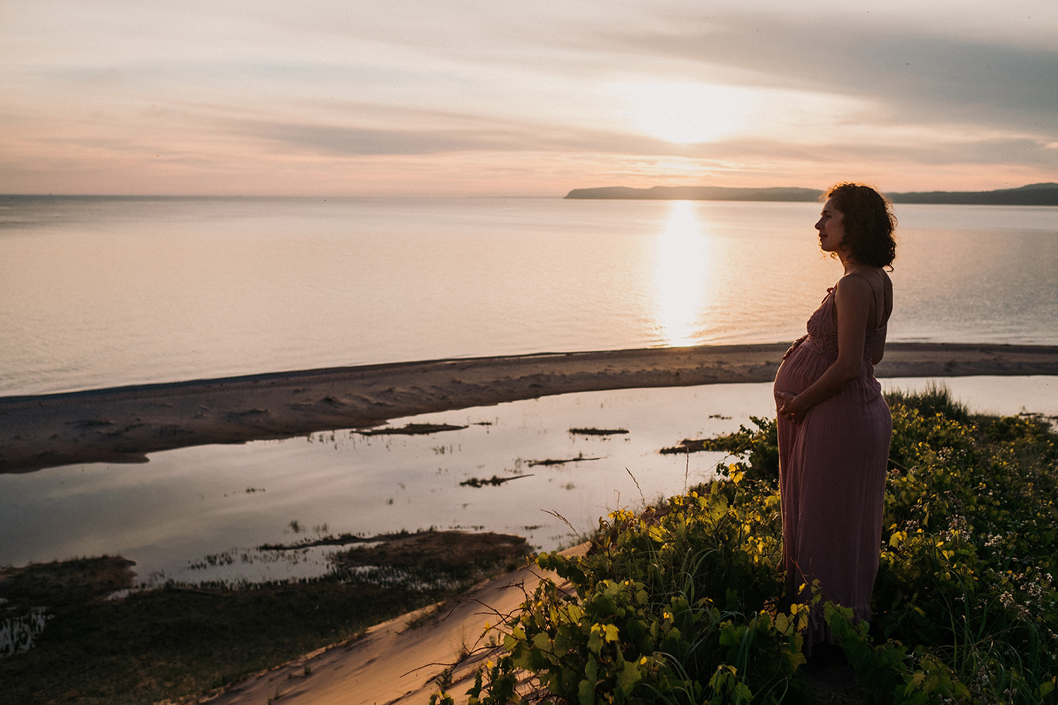 Maternity Session Sleeping Bear Dunes