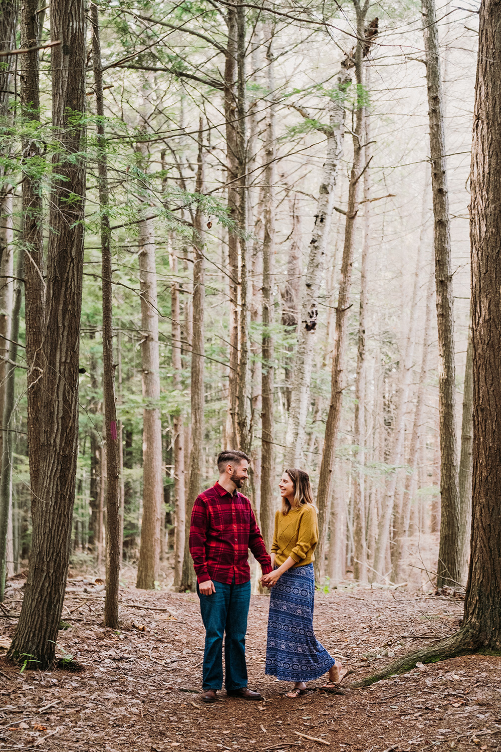 Forested Engagement Session