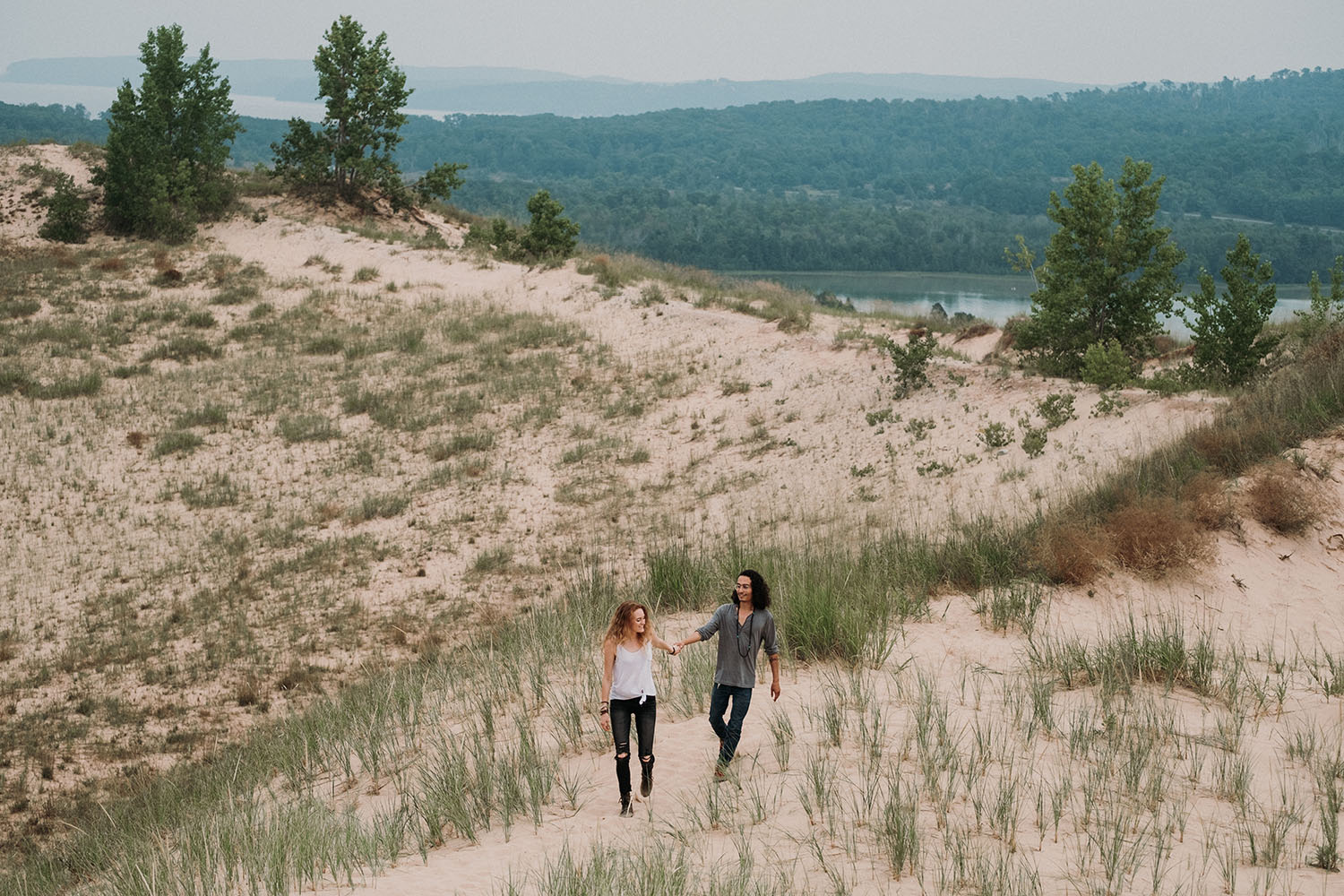 Sleeping Bear Dunes Engagement