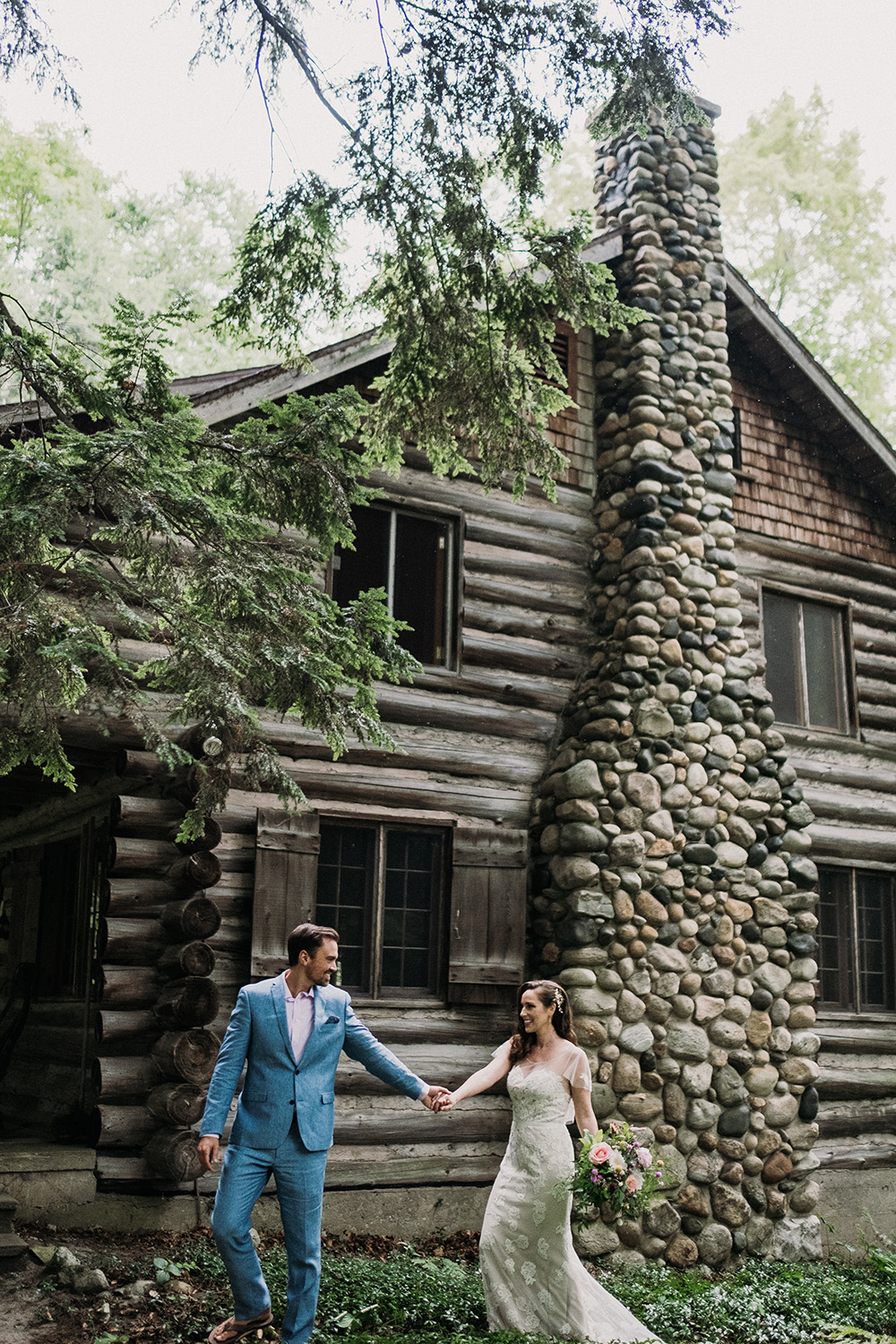 Elopement Photographer Northern Michigan Small Wedding