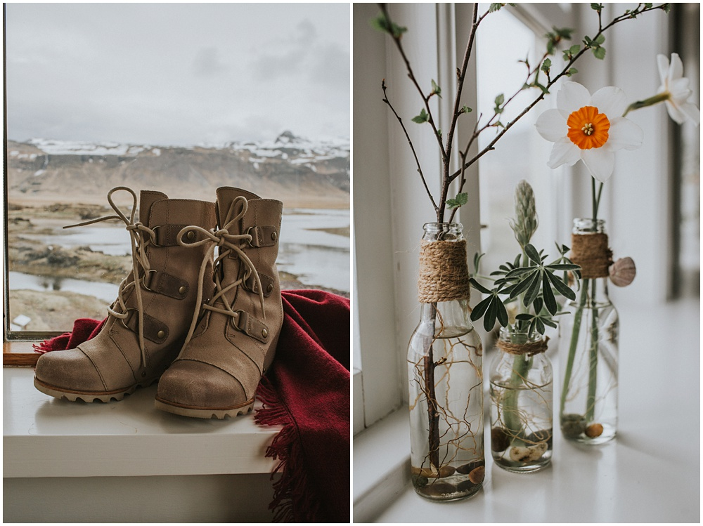 Iceland Wedding Photographer Hotel Budir