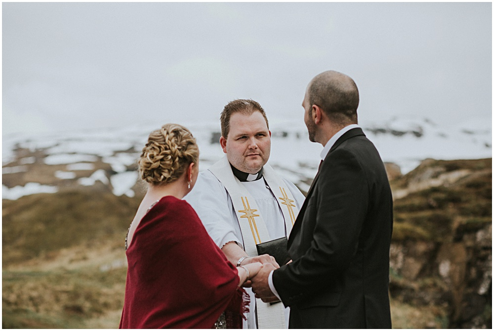Iceland Wedding Pastor Pall