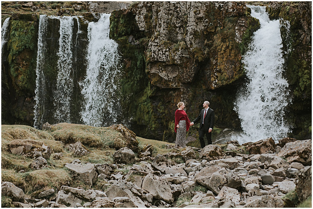 Kirkjufellfoss Wedding Elopement