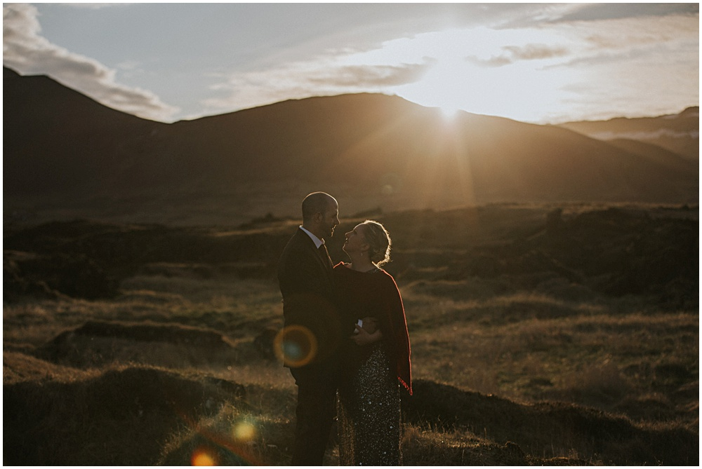 Lava Fields Iceland Wedding Elopement