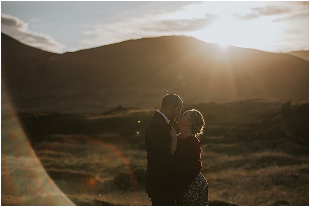 Hotel Budir Lava Fields Elopement Portraits