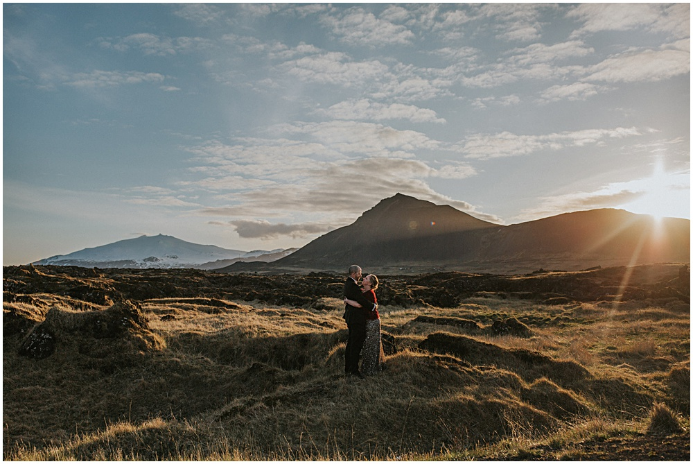 Lorra and John Iceland Elopement at Hotel Budir