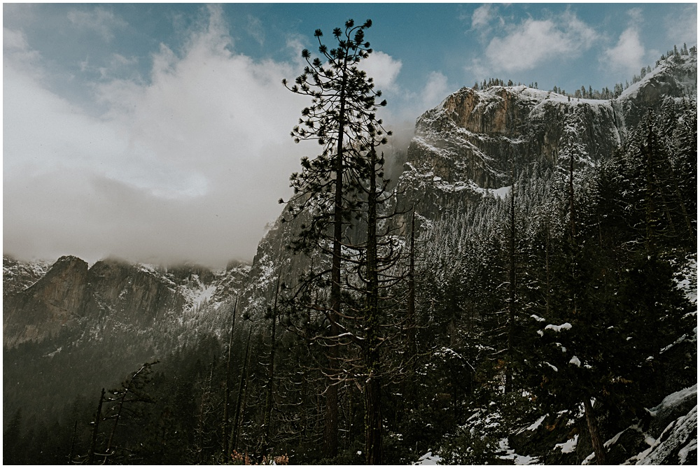 Yosemite Winter Landscape