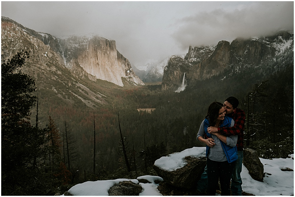 Yosemite National Park Engagement