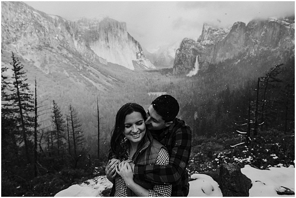 Yosemite Adventure Engagement Session
