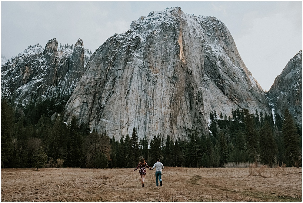 Yosemite Engagement Session El Capitan
