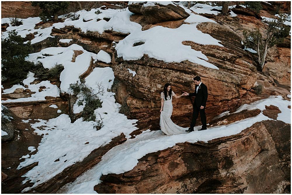 Zion Wedding Elopement
