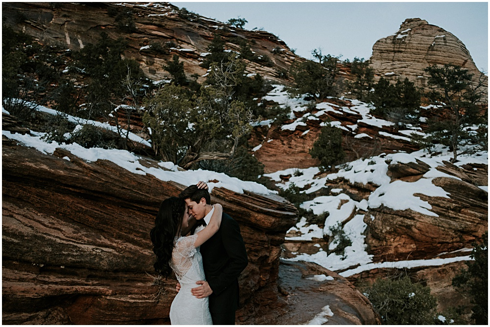 Zion Elopement Session in Utah