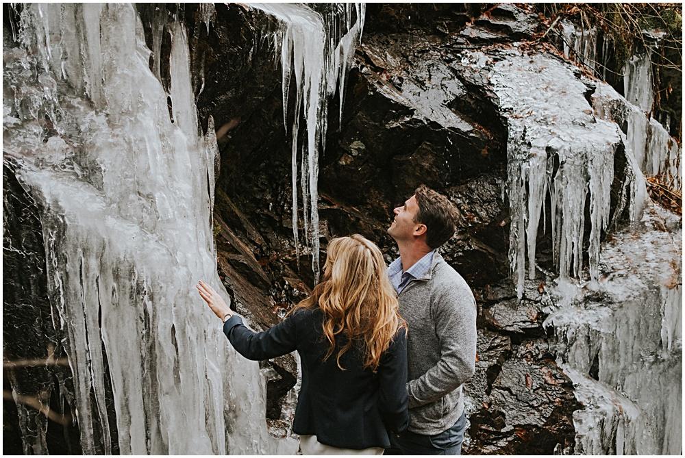 Grayson Highlands Virginia Winter Hike