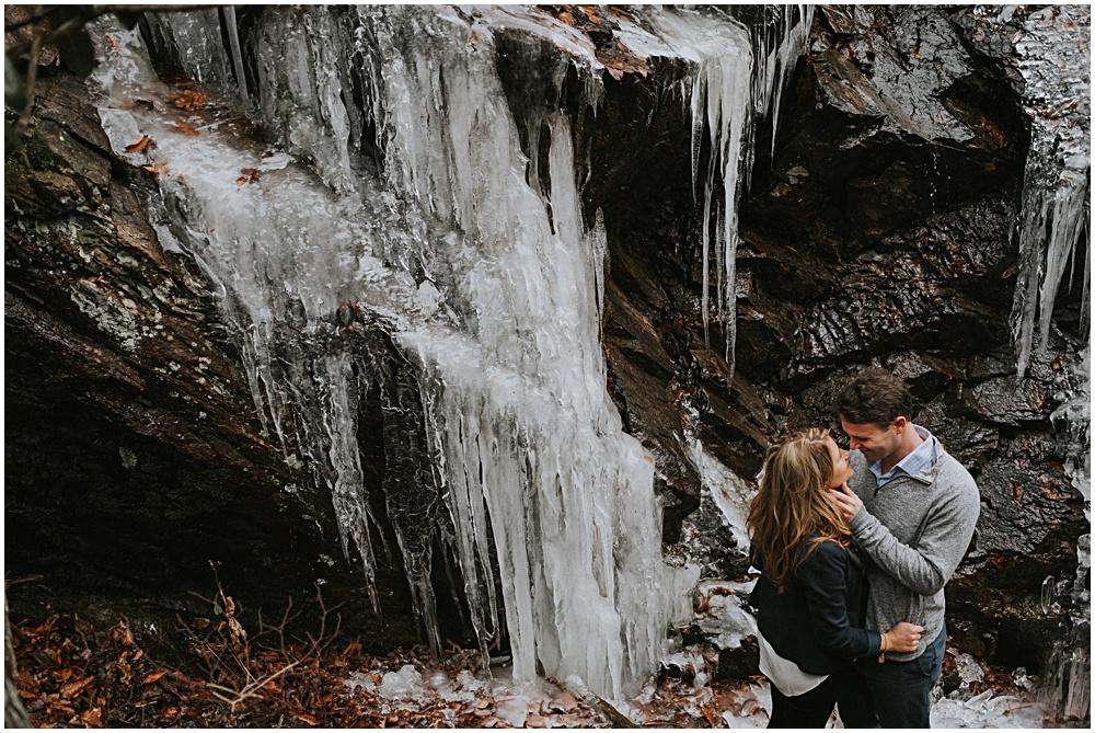 Frozen Waterfall Virginia