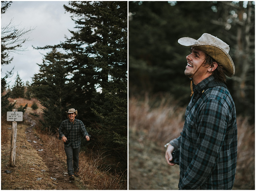 Adventure Grayson Highlands Engagement