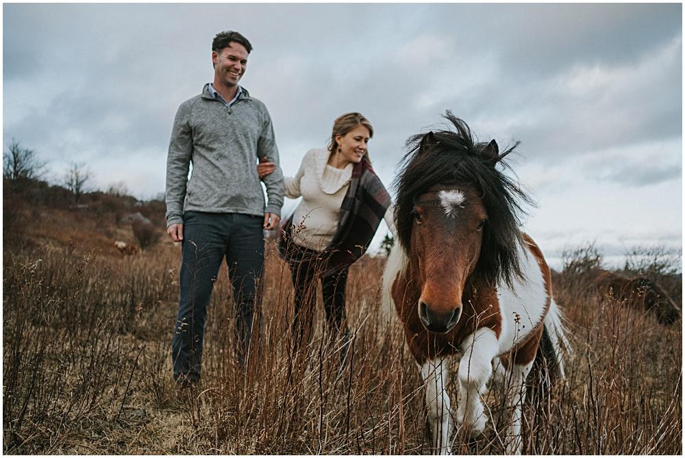 Wild Ponies Grayson Highlands Engagement
