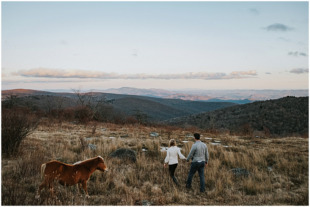 Appalachian Engagement Session Virginia
