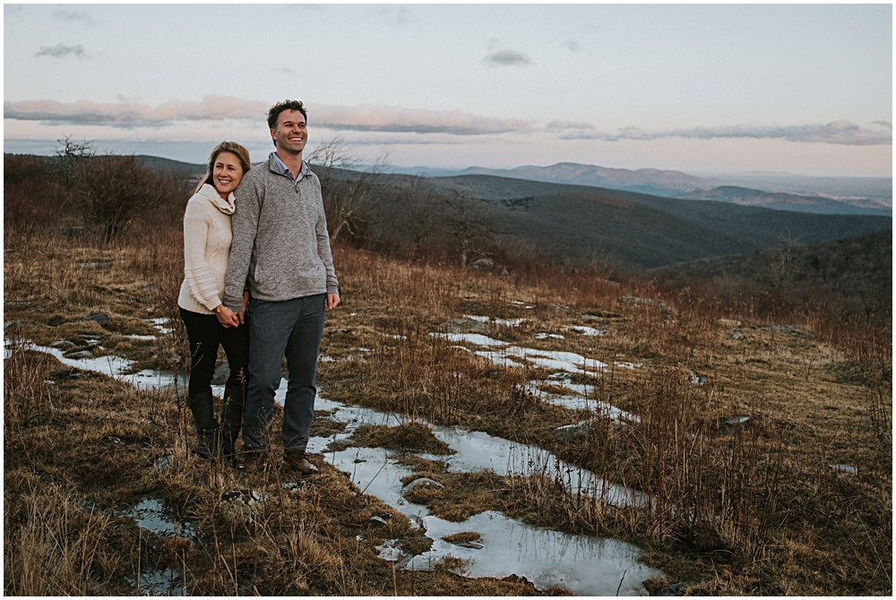 Adventure Engagement Session in the Blue Ridge