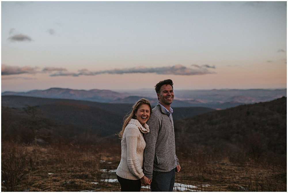 Hiking Engagement Session Trail