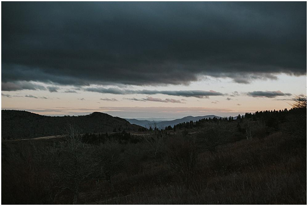 Blue Ridge Mountain Sunset