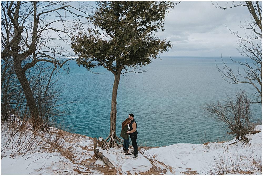 Lake Michigan Engagement Session
