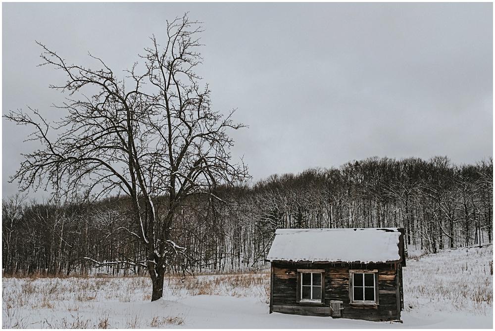 Sleeping Bear Dunes Winter