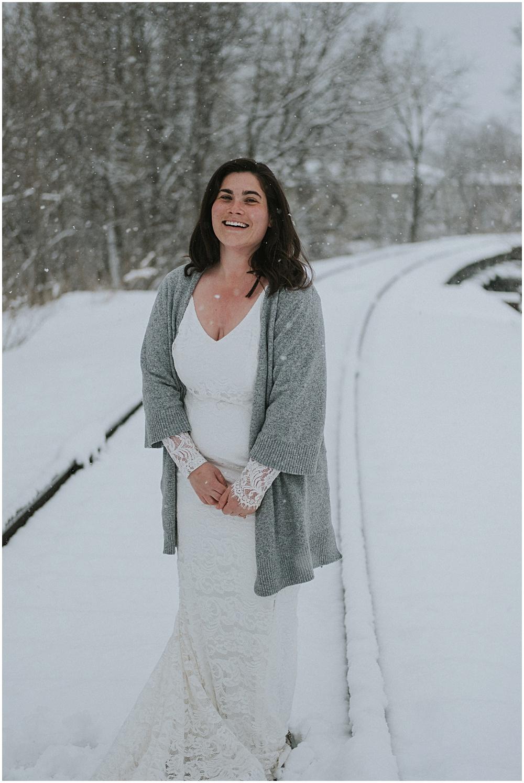 Northern Michigan Bridal Session