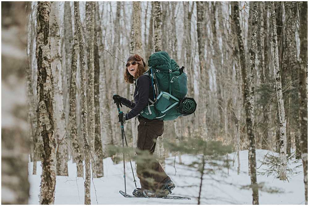 Winter Backpacking Upper Peninsula