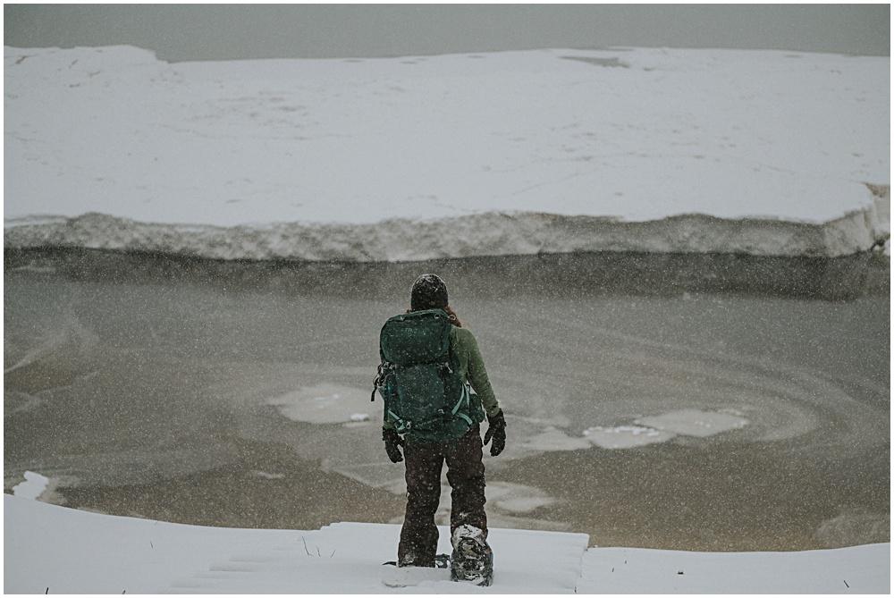 Winter Backpacking Upper Peninsula Michigan