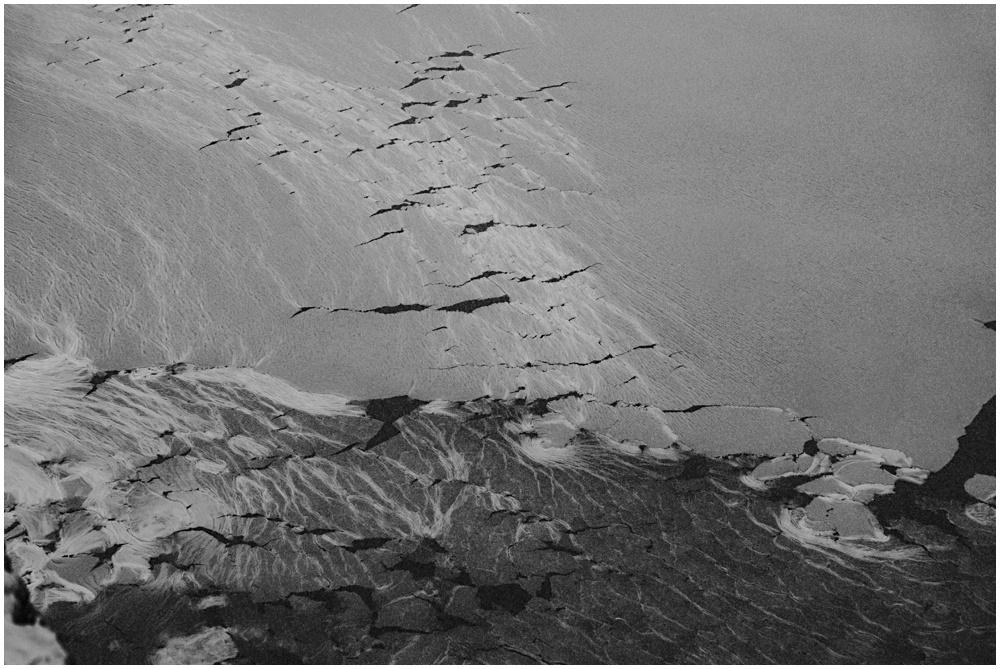 Snowscape Pictured Rocks Lake Superior