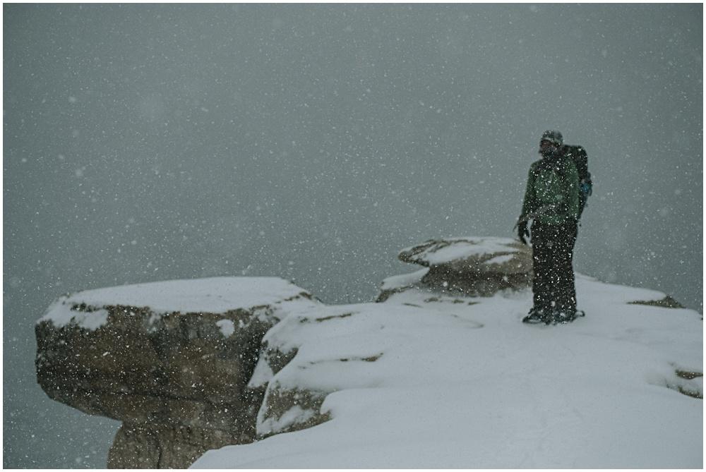 Grand Portal Point Winter Michigan