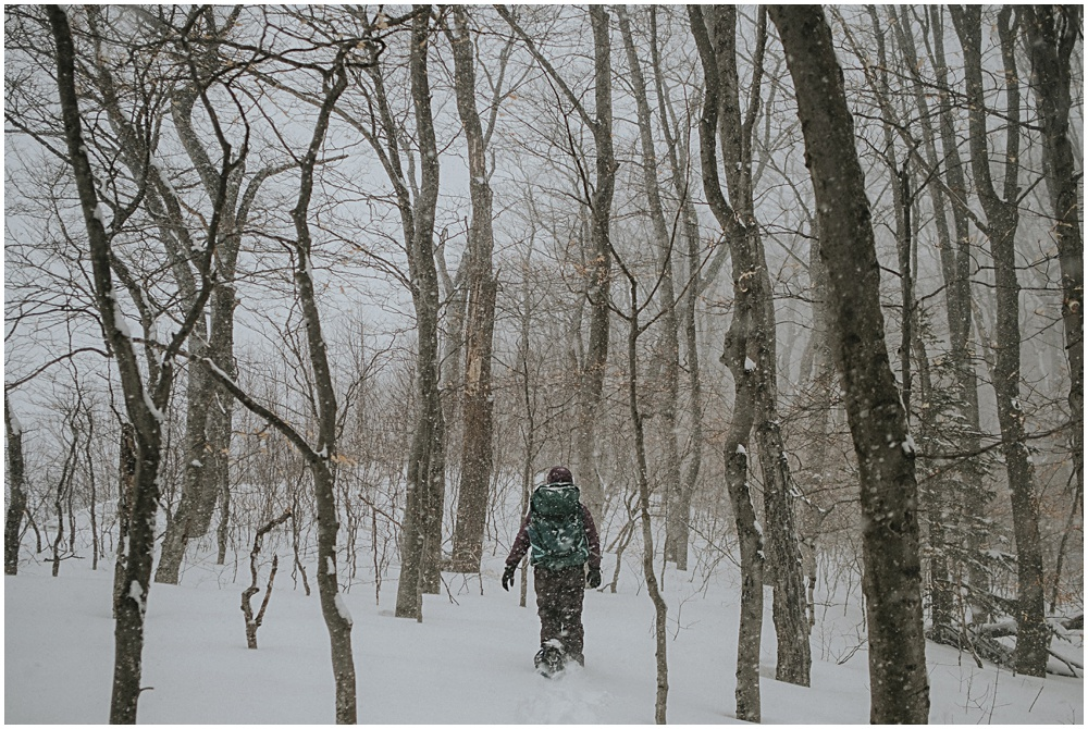 Winter Backpacking in Pictured Rocks