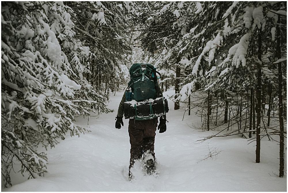 Backpacking Northern Michigan Upper Peninsula