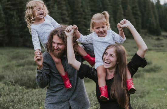 Family Mini Session in Vail Colorado