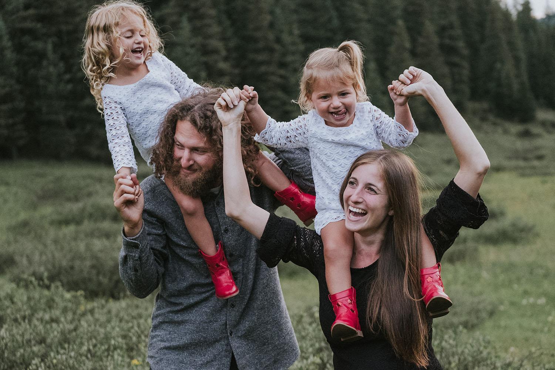 Family Mini Session in Vail Colorado