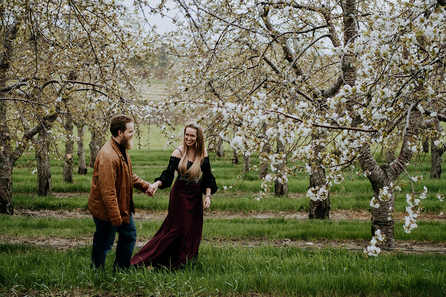 Old Mission Engagement Photographer - Old Mission Peninsula