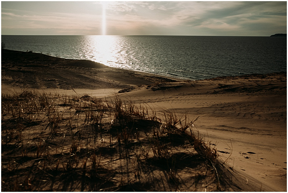 Exploring Sleeping Bear Dunes Sunset