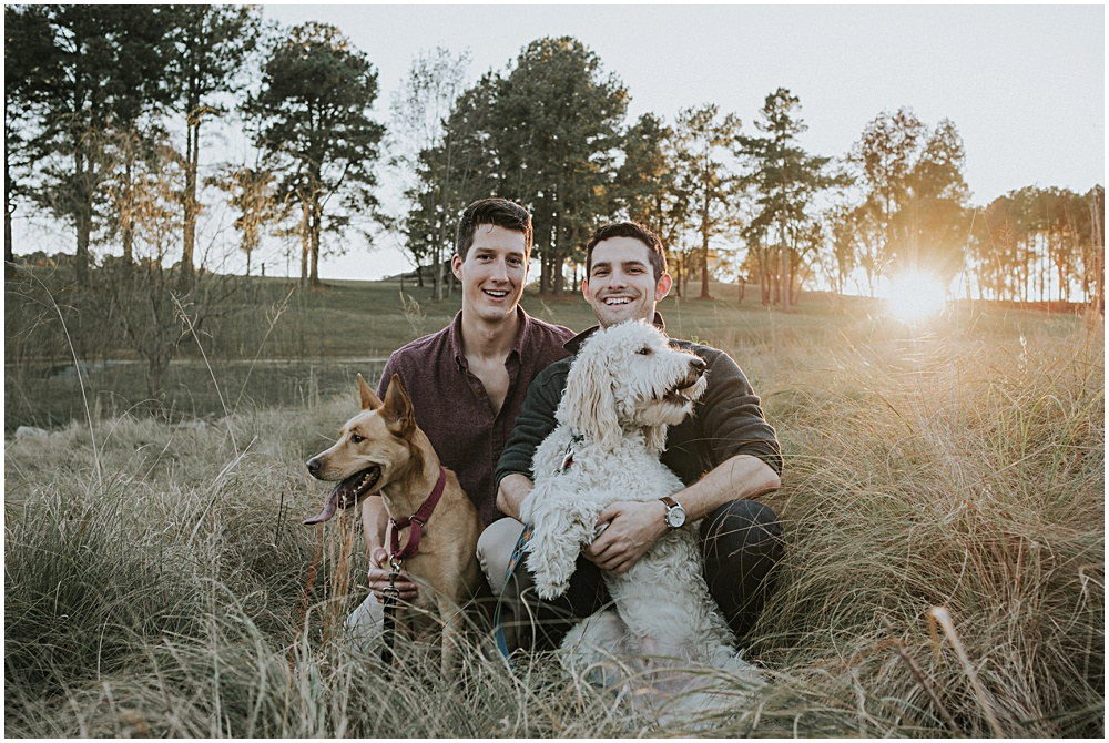 Traverse City Gay Engagement Session