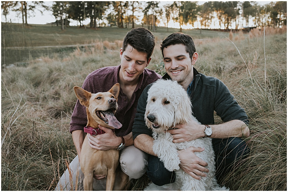 Gay Engagement Session in Traverse City Michigan