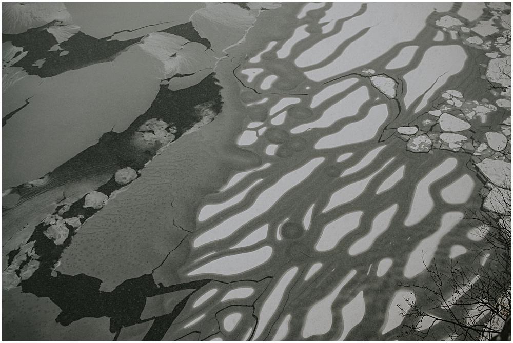Frozen Pictured Rocks Upper Peninsula