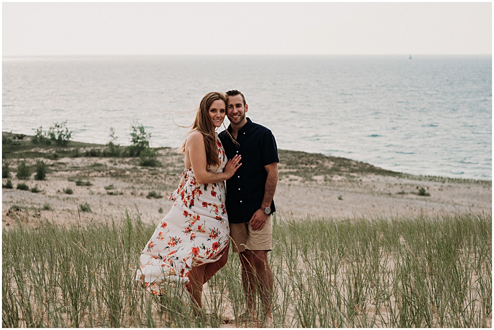 Glen Arbor Engagement Session