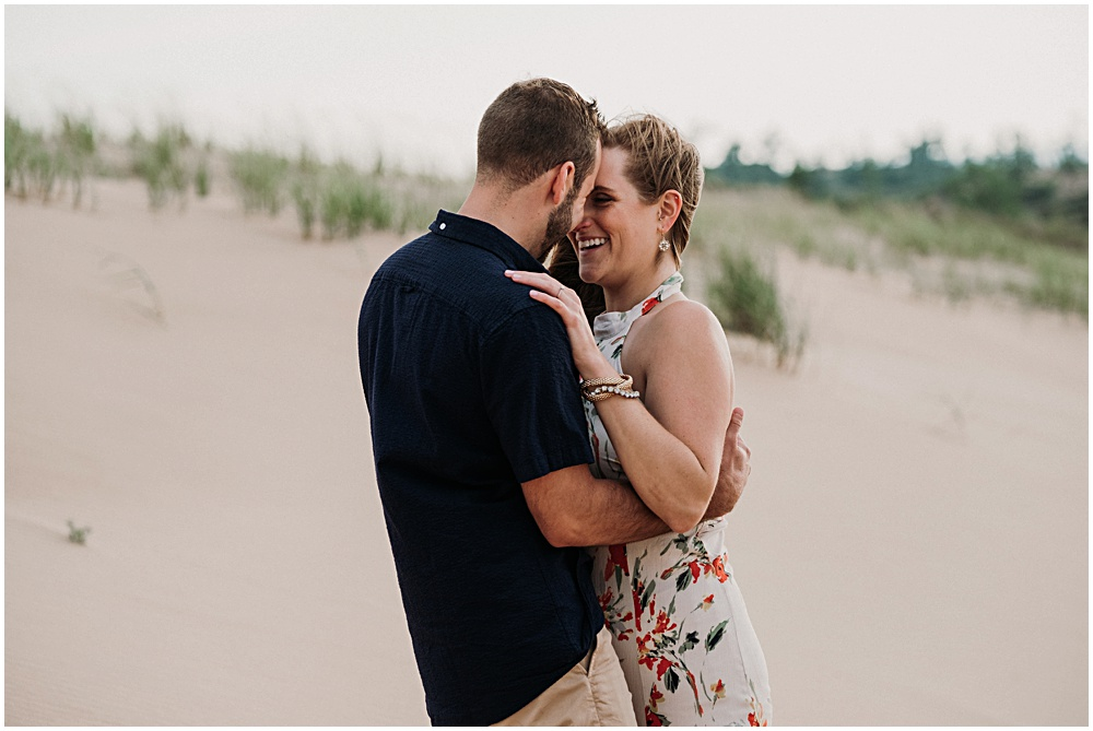 Glen Arbor Sleeping Bear Dunes Engagement