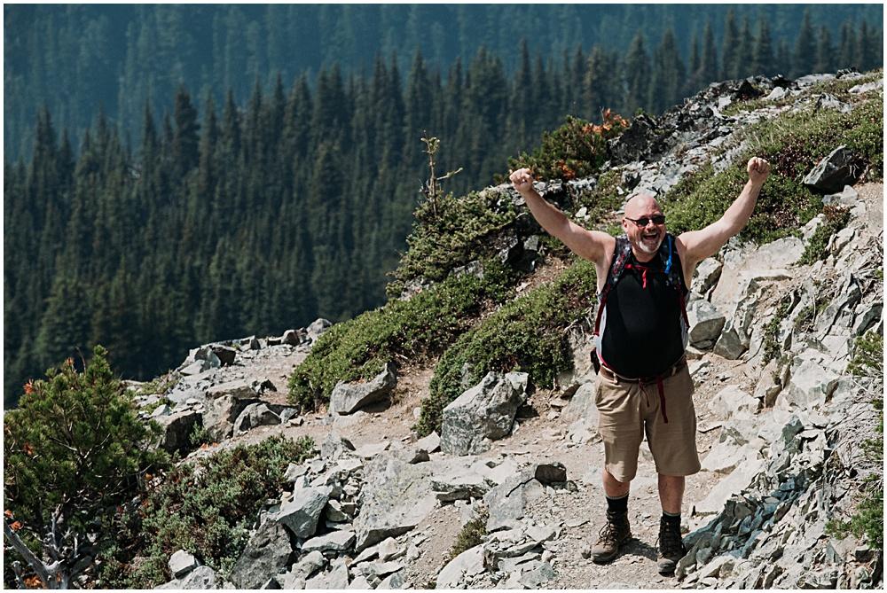 Mount Rainier Hiking Wedding