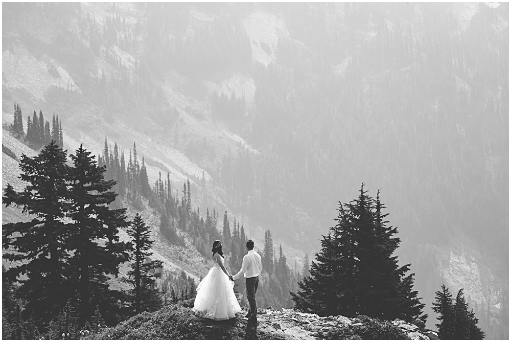 Wedding Mount Rainier National Park