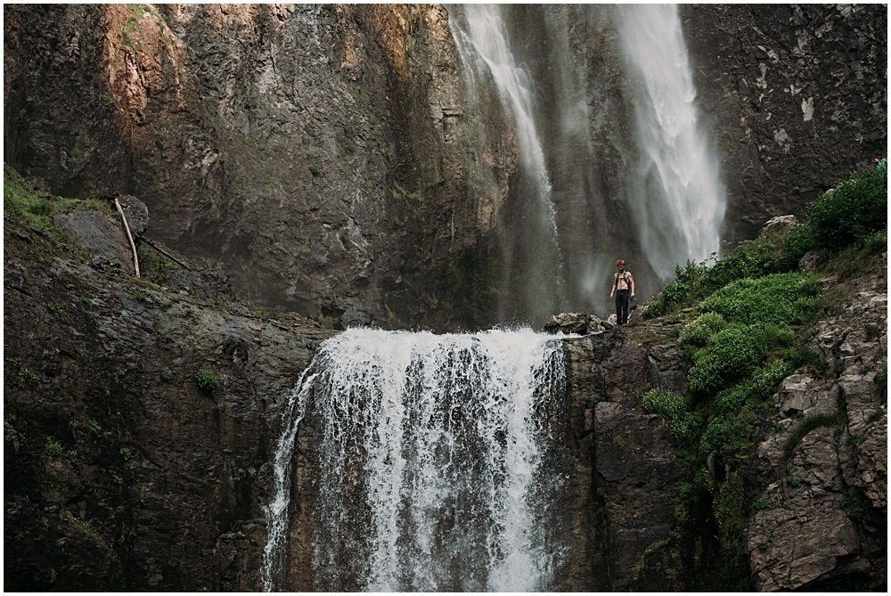 Mount Rainier Waterfall