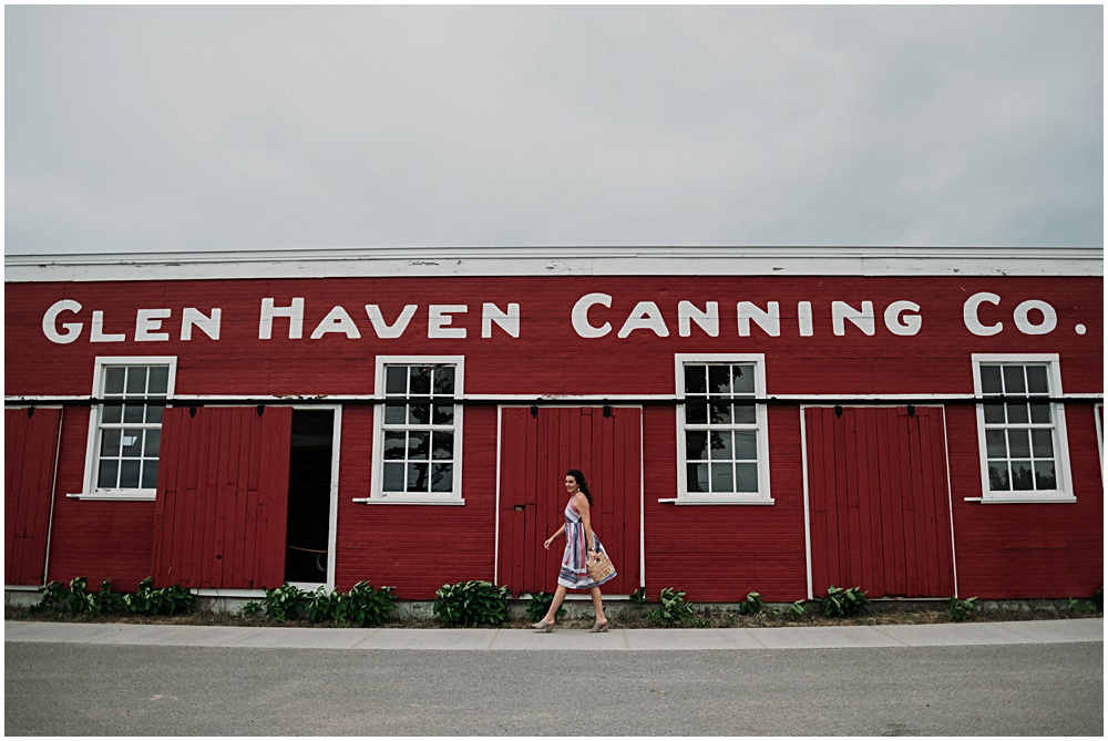 Glen Haven Canning Museum Fashion Photographer