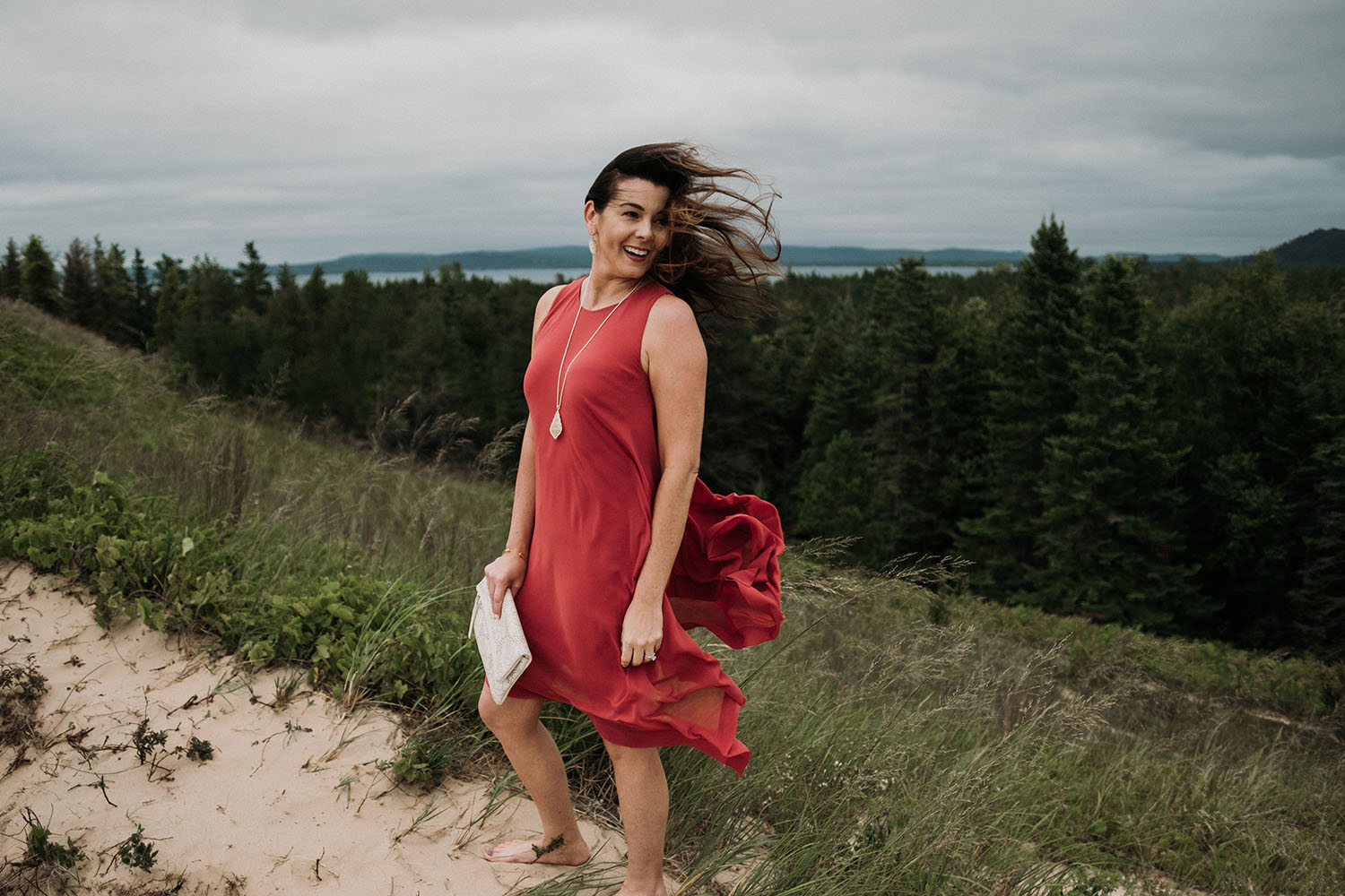 Traverse City Fashion Photographer | Jenny with 'Her Best Always'