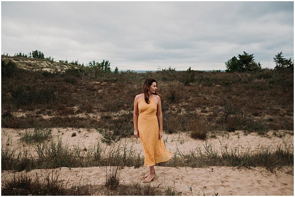 Traverse City Fashion Photographer Dunes Photoshoot