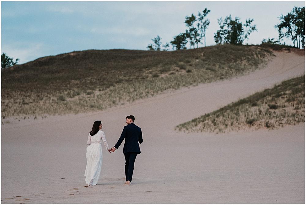 Traverse City Dune Climb Wedding