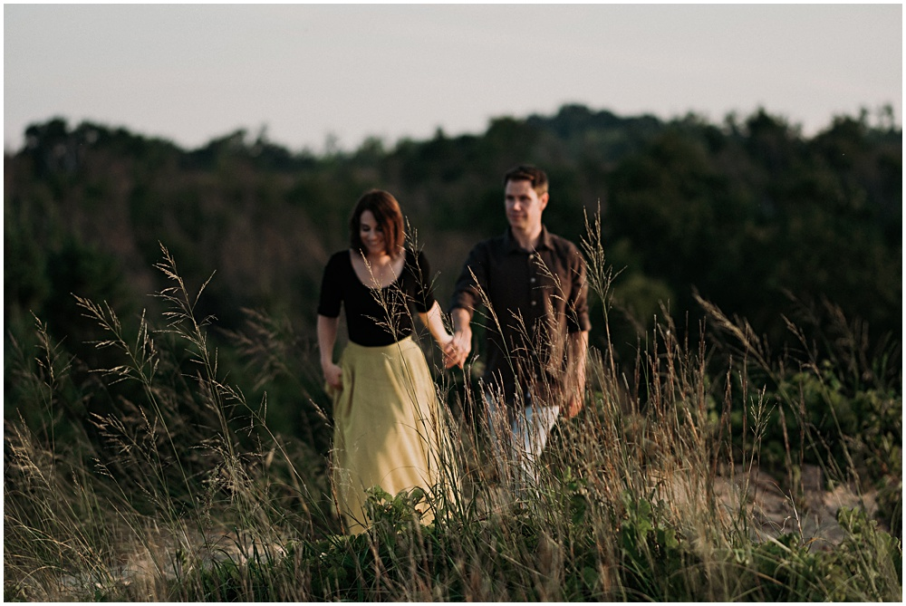Glen Haven Engagement Session